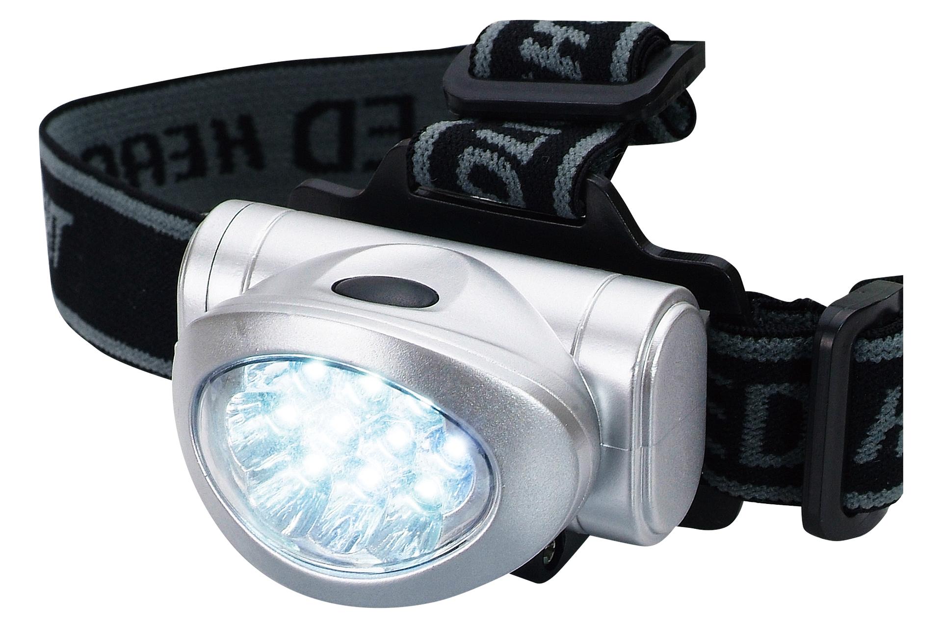 10LED ヘッドライト