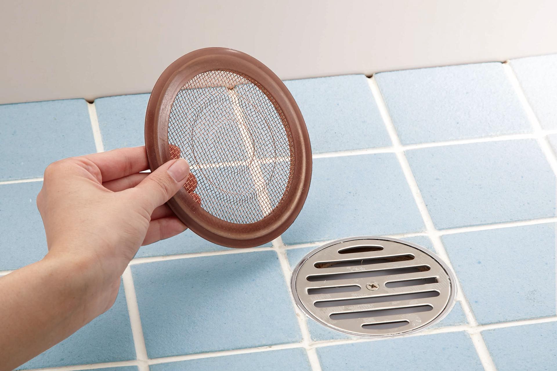 銅だい!浴室排水口の毛ゴミキャッチ