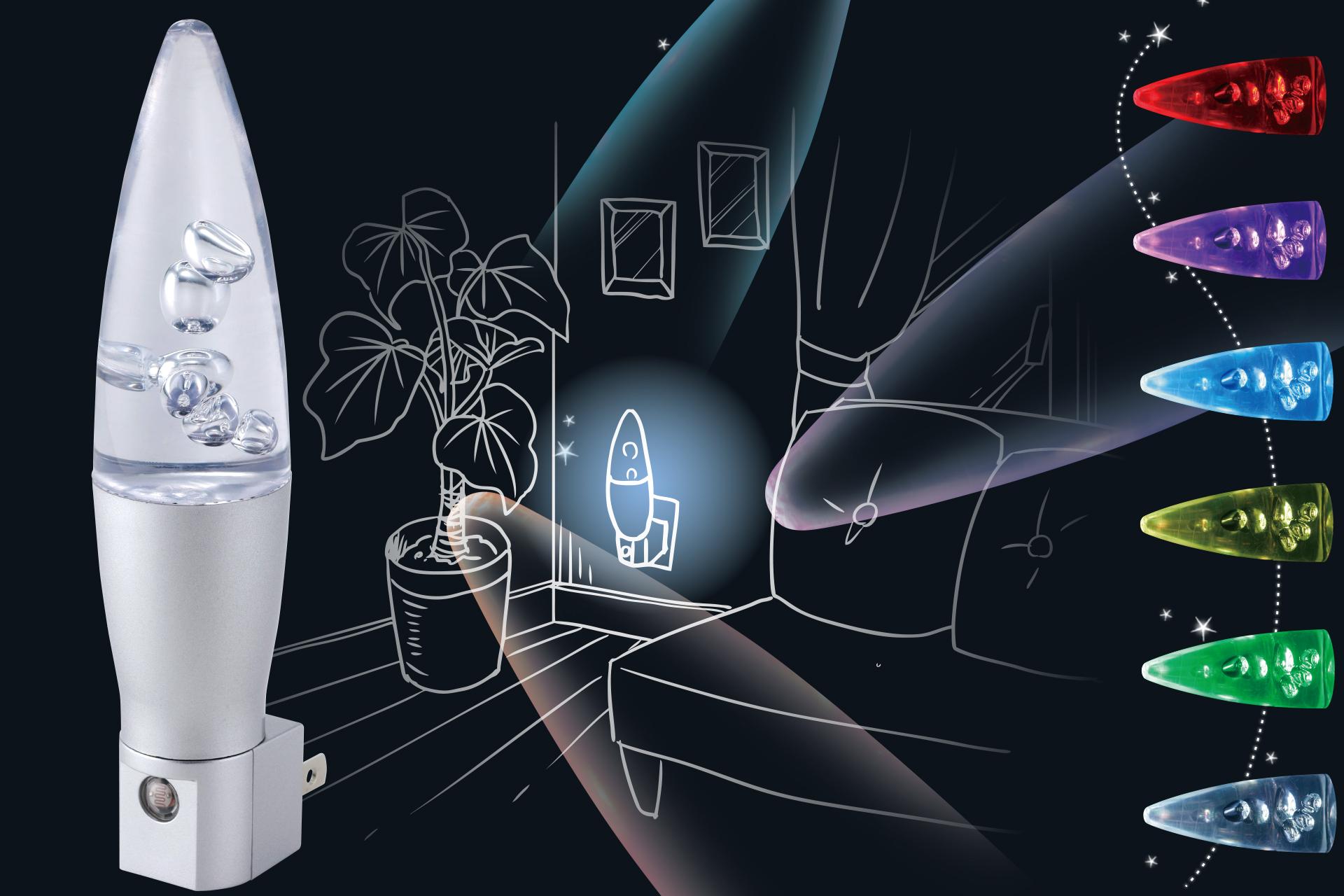 LED ナイトランプ イルミネーション