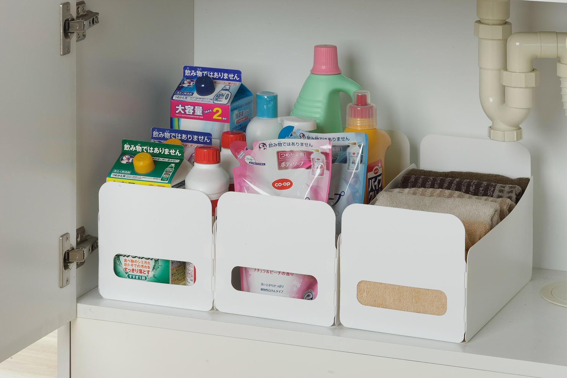 組立て簡単収納BOX 3個組